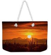 Golden Southwest Sunset  Weekender Tote Bag