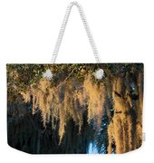 Golden Spanish Moss Weekender Tote Bag
