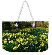 Golden Spring Carpet Weekender Tote Bag