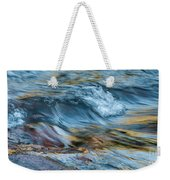 Golden Strands Of Water Weekender Tote Bag