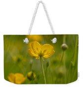 Golden Summer Buttercup 3 Weekender Tote Bag