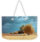 Golden Summerscape Weekender Tote Bag by Helga Novelli