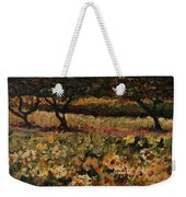 Golden Sunflowers Weekender Tote Bag