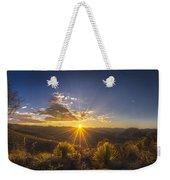 Golden Sunlight Desert Scene Weekender Tote Bag