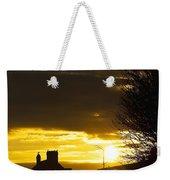 Golden Sunrise Weekender Tote Bag