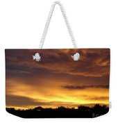 Golden Sunset 1 Weekender Tote Bag
