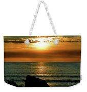 Golden Sunset At The Beach IIi Weekender Tote Bag