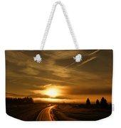 Golden Sunsets Weekender Tote Bag