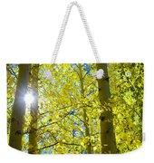 Golden Sunshine Weekender Tote Bag