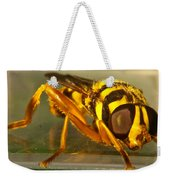 Golden Syrphid Weekender Tote Bag