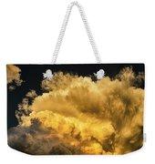 Golden Thunderhead Weekender Tote Bag