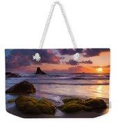 Golden Tides Weekender Tote Bag