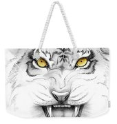 Golden Tiger Eyes Weekender Tote Bag