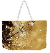 Golden Tones Weekender Tote Bag