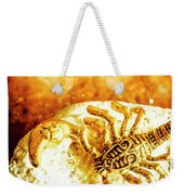 Golden Treasures Weekender Tote Bag
