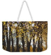 Golden Trees 1 Weekender Tote Bag