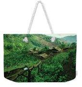 Golden Triangle Village Weekender Tote Bag
