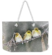 Golden Trio Weekender Tote Bag