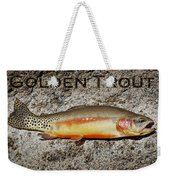 Golden Trout Weekender Tote Bag