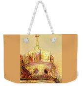Golden Turret Weekender Tote Bag
