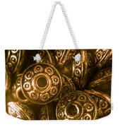 Golden Ufos From Egyptology  Weekender Tote Bag