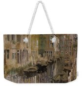 Golden Venice Weekender Tote Bag