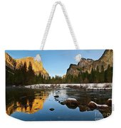 Golden View - Yosemite National Park. Weekender Tote Bag