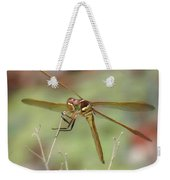 Golden-winged Skimmer Weekender Tote Bag