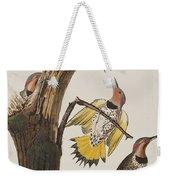 Golden-winged Woodpecker Weekender Tote Bag