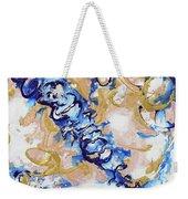 Goldenbluecollision Weekender Tote Bag