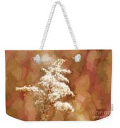 Goldenrod Plant In Fall Weekender Tote Bag