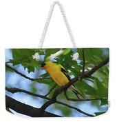 Goldfinch In Oak Tree Weekender Tote Bag
