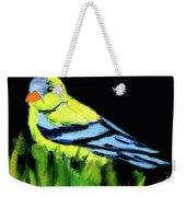 Goldfinch In The Garden Weekender Tote Bag