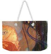 Goldfish Weekender Tote Bag by Gustav Klimt