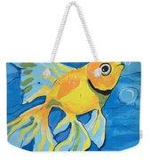 Goldfish Whisper Weekender Tote Bag