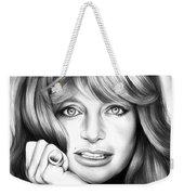 Goldie Hawn Weekender Tote Bag