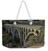 Goleta Hwy 101 Bridge Weekender Tote Bag