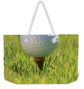 Golf Ball On Tee Weekender Tote Bag