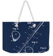 Golf Club Patent 1910 Blue Weekender Tote Bag