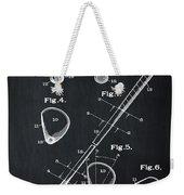 Golf Club Patent 1910 Chalk Weekender Tote Bag