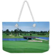 Golf Course Gold Coast Queensland Weekender Tote Bag
