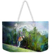 Golf In Crans Sur Sierre Switzerland 02 Weekender Tote Bag