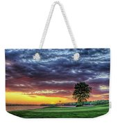 Golf Sunset Number 4 The Landing Reynolds Plantation Golf Art Weekender Tote Bag
