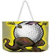 Golf Zilla Weekender Tote Bag