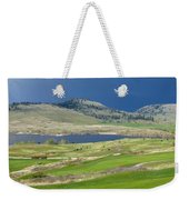 Golfing And Grazing Weekender Tote Bag