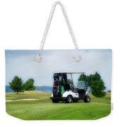 Golfing Golf Cart 03 Weekender Tote Bag