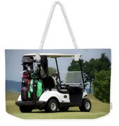 Golfing Golf Cart 05 Weekender Tote Bag