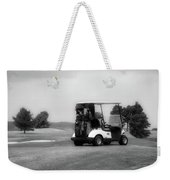 Golfing Golf Cart 06 Bw Weekender Tote Bag