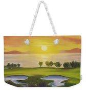 Golfing Heaven Weekender Tote Bag