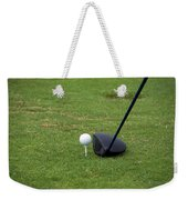 Golfing Lining Up The Driver Weekender Tote Bag